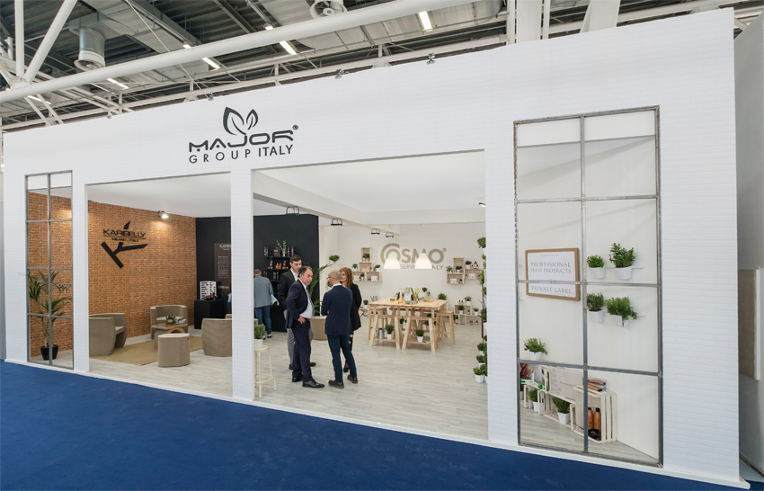 stand major alla fiera cosmoprof